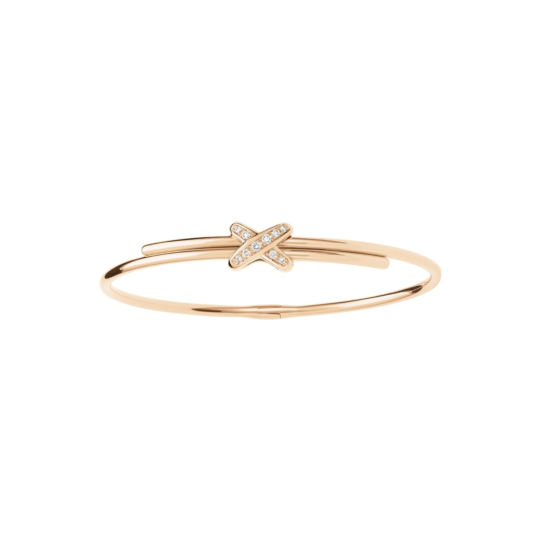 Bracelet Chaumet Premiers Liens en or rose et diamants