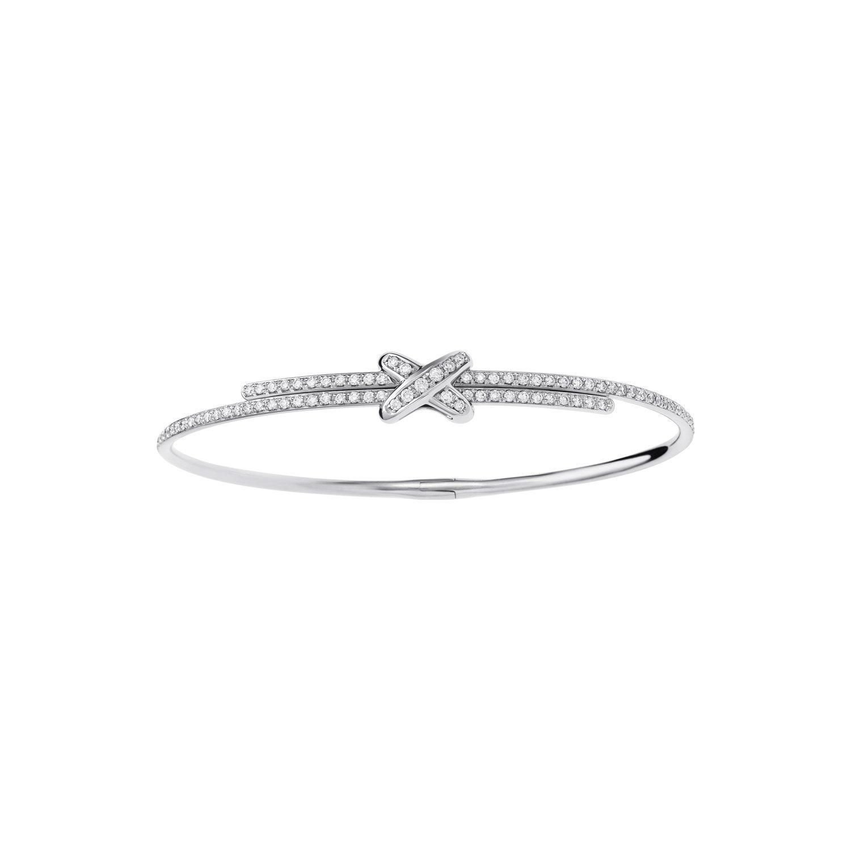 Bracelet Chaumet Premiers Liens en or blanc et diamants