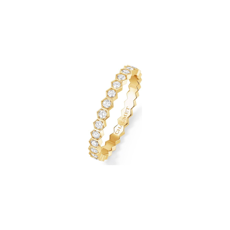 Alliance Chaumet Bee my love en or jaune et diamant