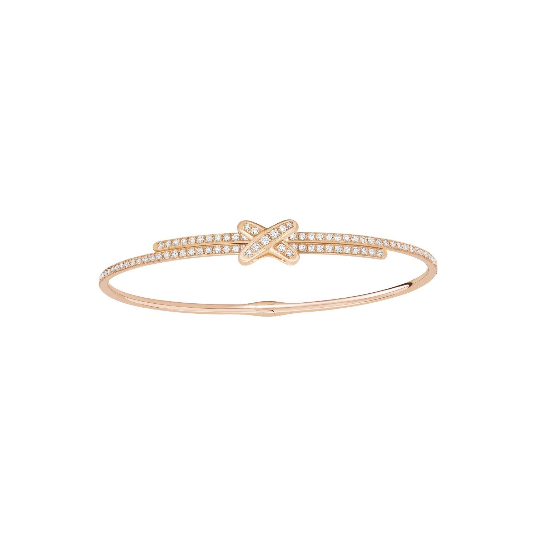 Bracelet Chaumet Jeux de Liens en or rose et diamants