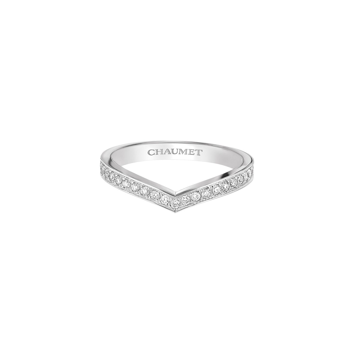 Alliance Chaumet Joséphine Aigrette en platine et diamants