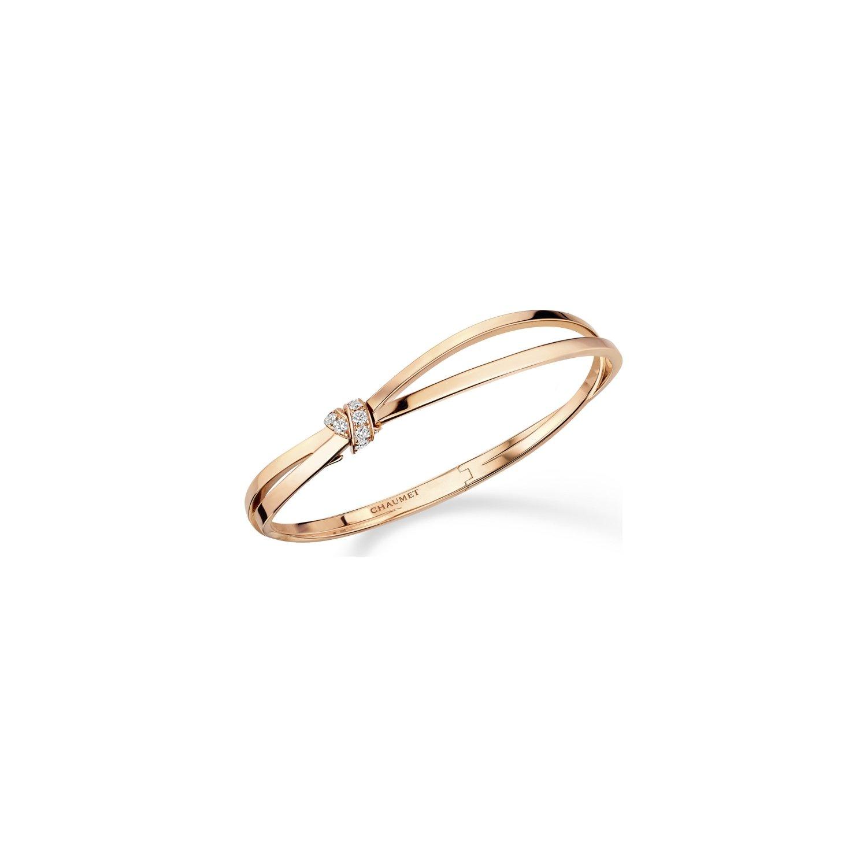 Bracelet Chaumet Liens Séduction en or rose et diamants