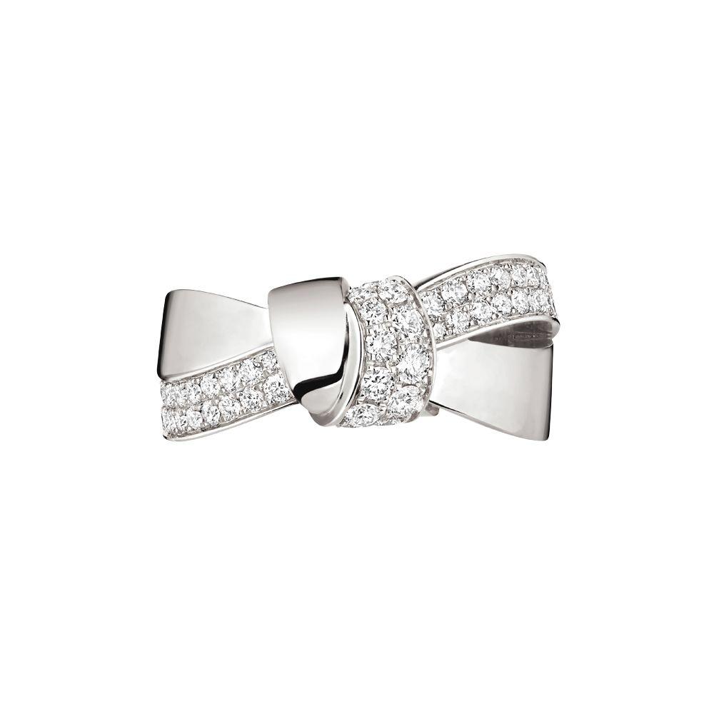 Bague Chaumet Liens Séduction en or blanc et diamants vue 2