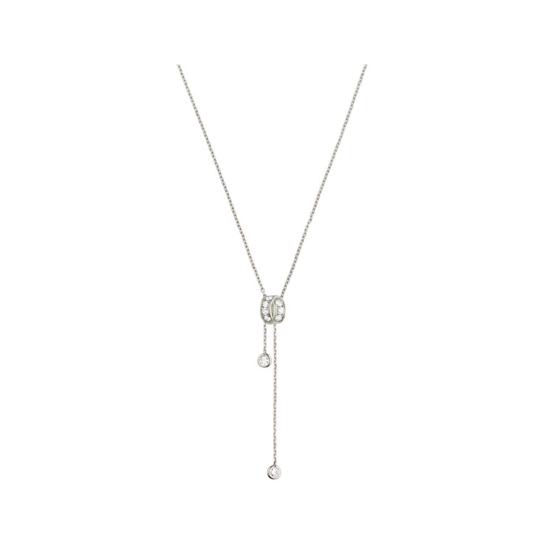 Pendentif Chaumet Liens Séduction en or blanc et diamants