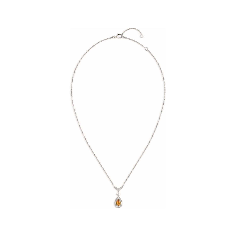 Pendentif Chaumet Joséphine Aigrette en or blanc et diamants