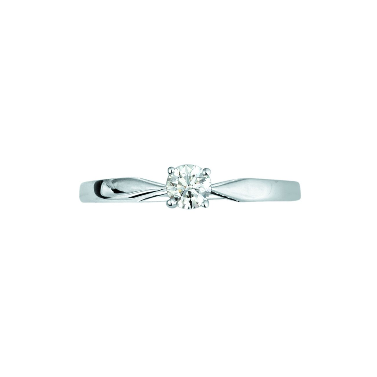 Bague en or blanc et diamants de 0.23ct