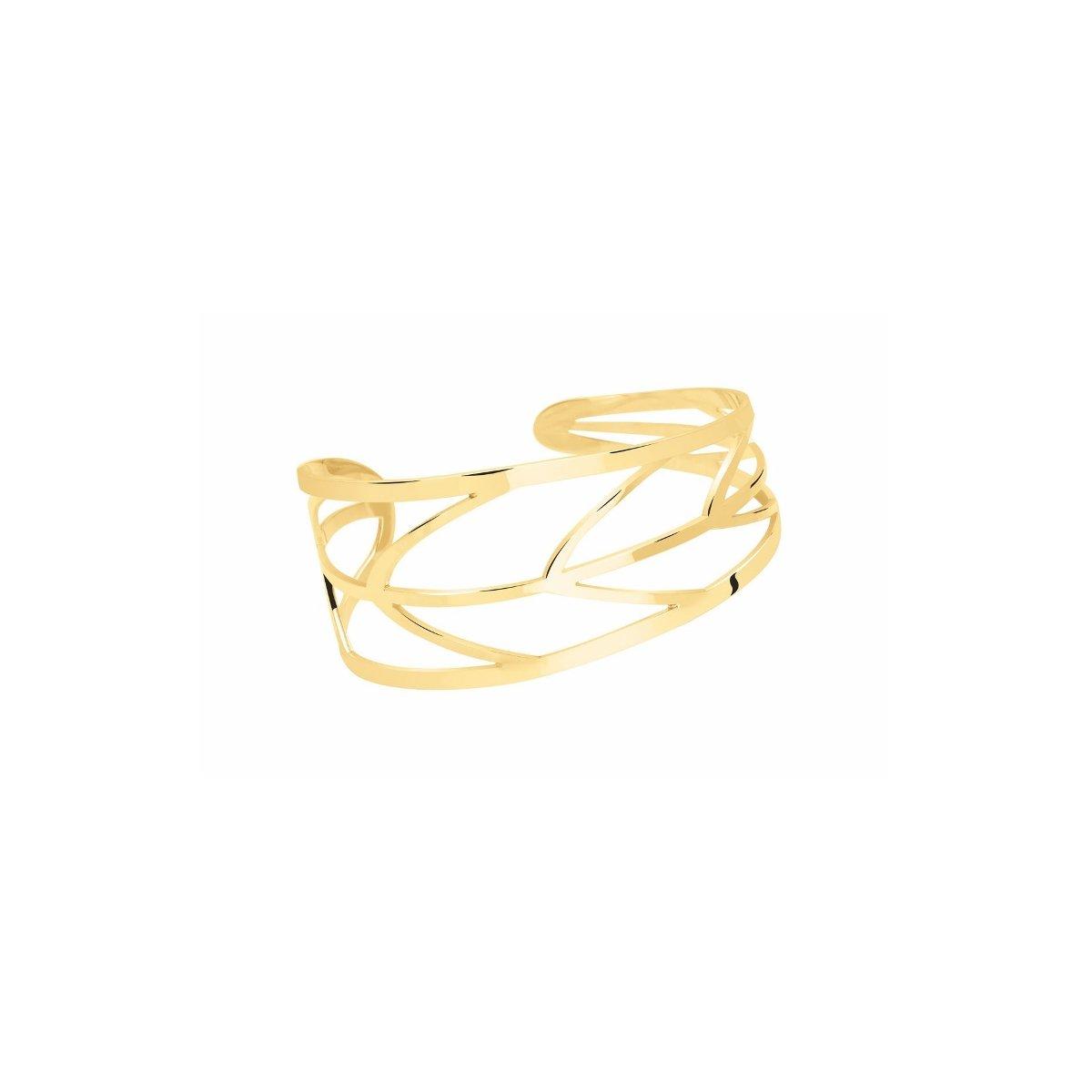 Bracelet Murat en plaqué or jaune vue 1