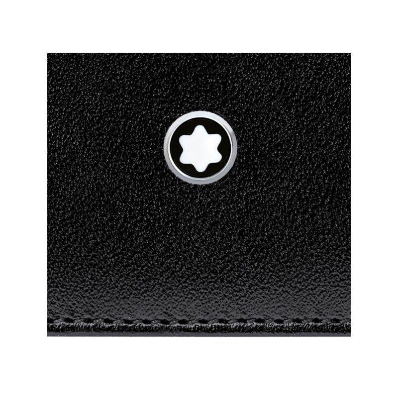 Porte-cartes Montblanc Meisterstück en cuir noir vue 2