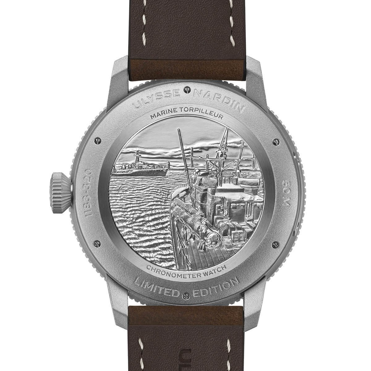 Montre Ulysse Nardin Marine Torpilleur 44mm vue 3
