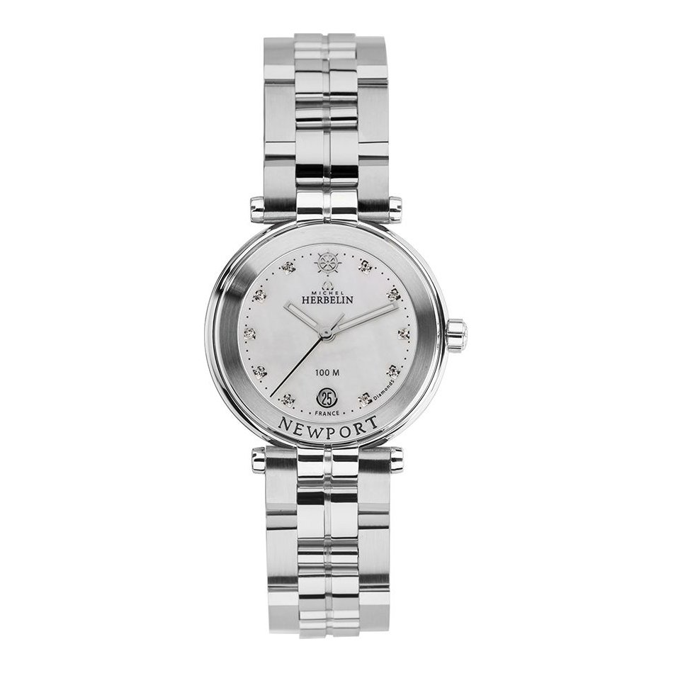 Montre Michel Herbelin Newport Lady 14285/B89 vue 1