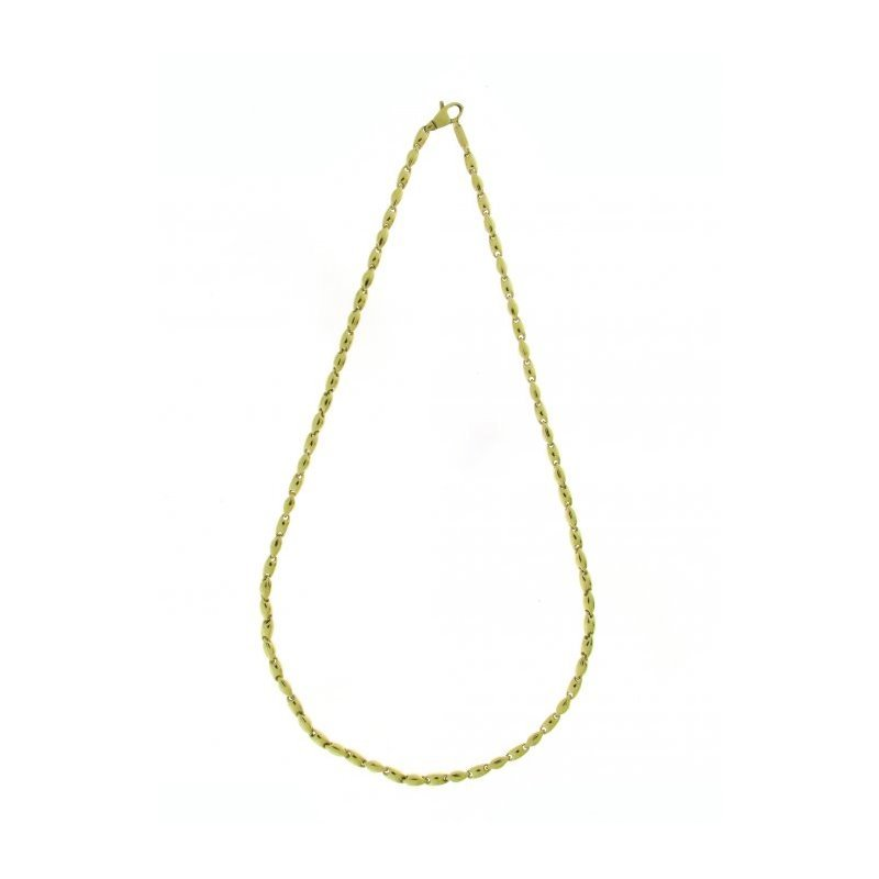 Collier CHIMENTO Tradition Gold Bamboo classic en or jaune