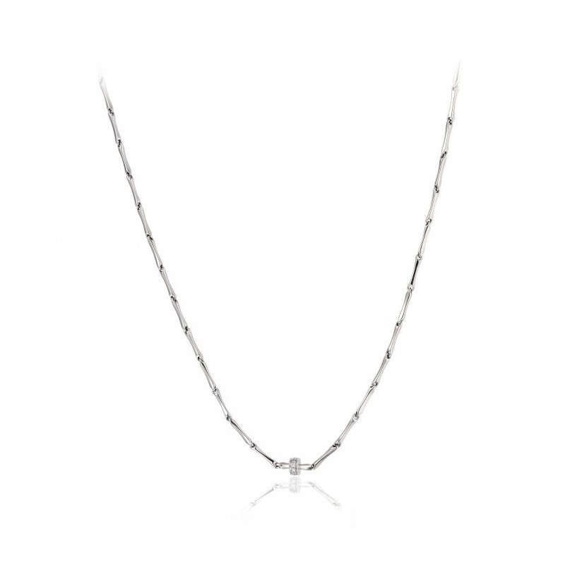 Collier CHIMENTO Bamboo Shine en or blanc et diamants