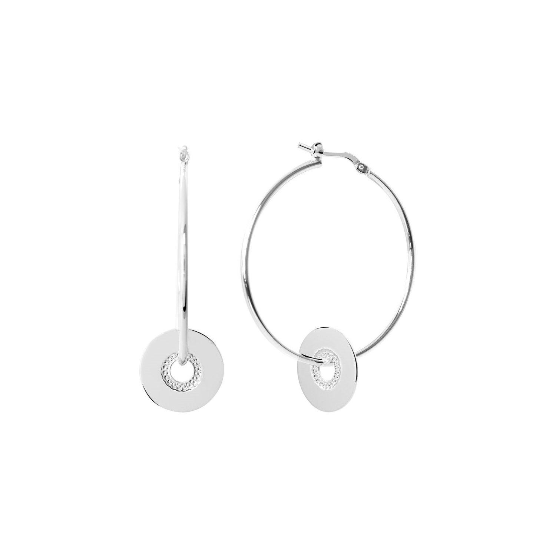 Boucles d'oreilles Murat en argent vue 1