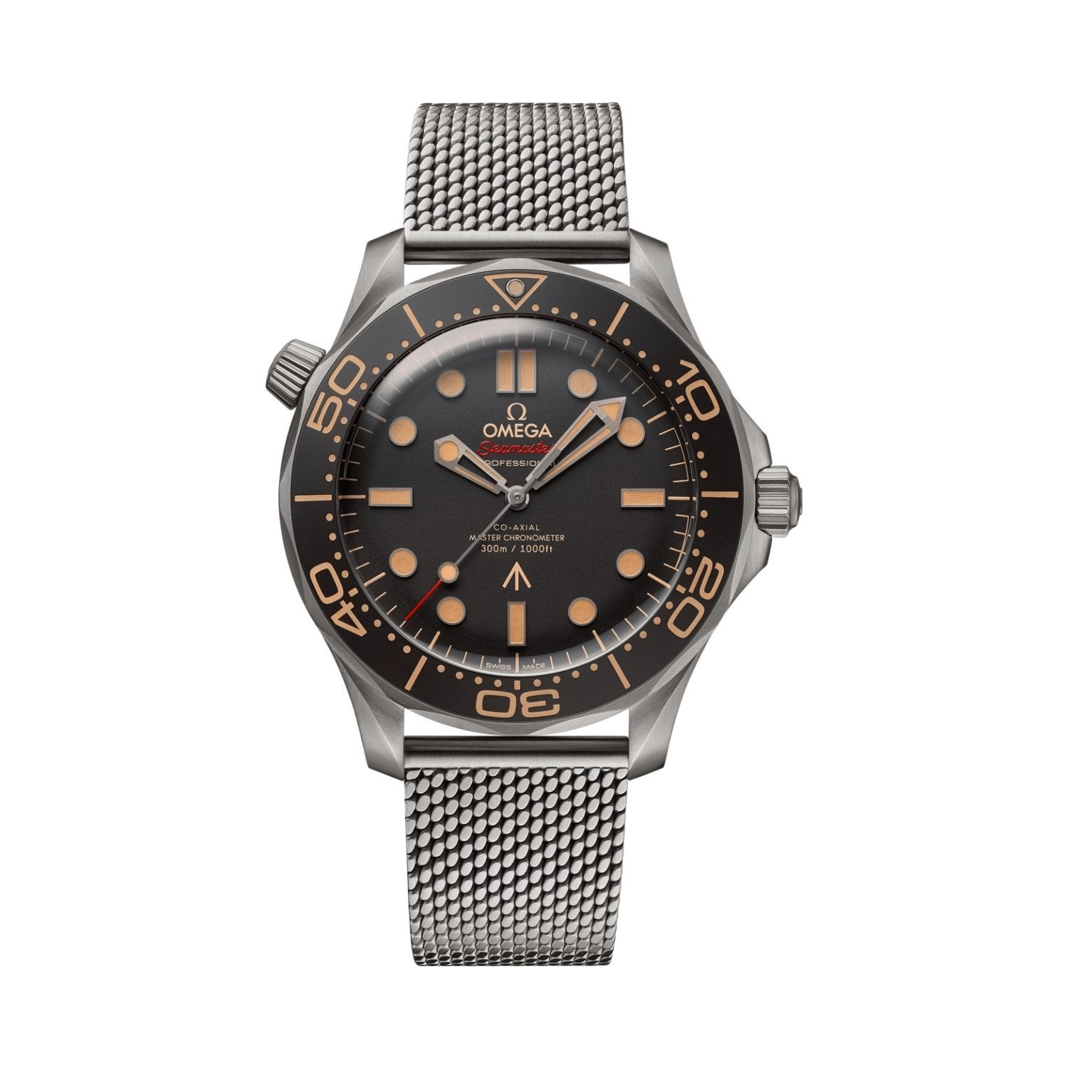 Montre Omega Seamaster Diver 300M Co-Axial Master Chronometer Edition 007 42mm vue 1