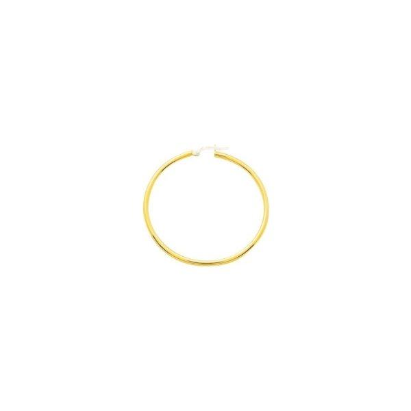 Boucles d'oreilles créoles en or jaune