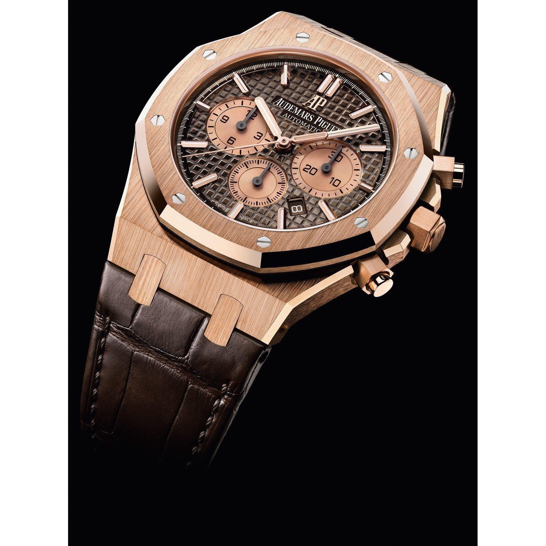 Montre Audemars Piguet Royal Oak Chronographe Automatique vue 2