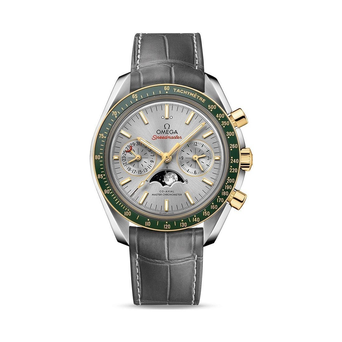 Montre Omega Speedmaster Moonwatch Co‑Axial Master Chronometer Chronographe Phases de lune 44.25mm vue 1