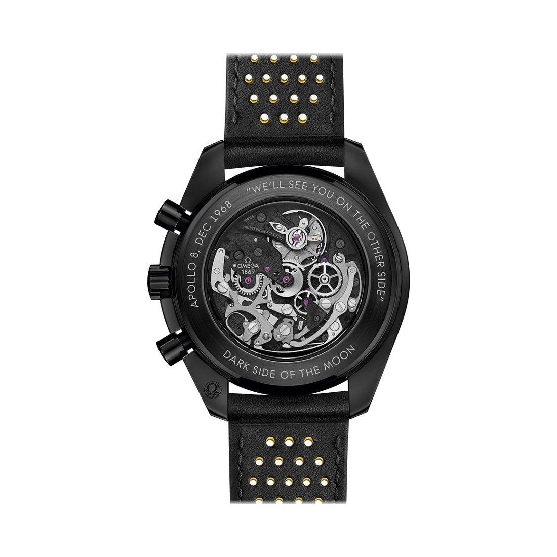 Montre Omega Speedmaster Moonwatch Dark Side of the Moon Apollo 8 Chronographe 44.25mm vue 2