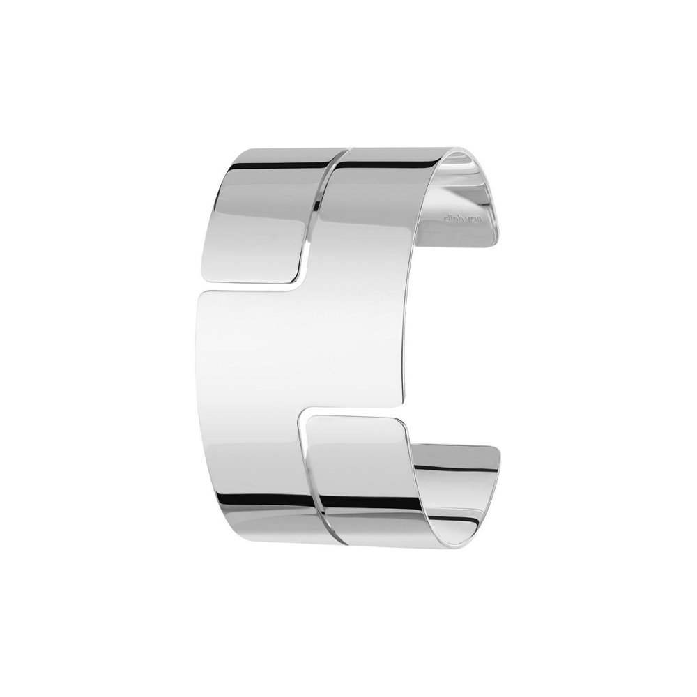 Bracelet Manchette dinh van Seventies en Argent