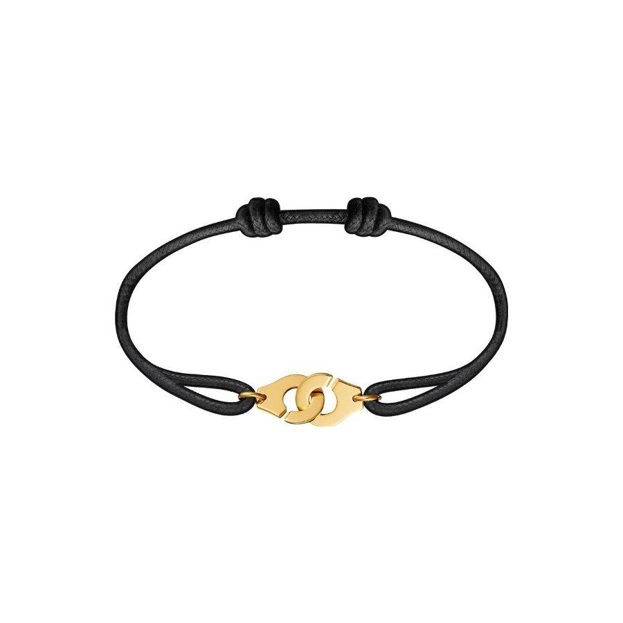 Bracelet sur cordon dinh van Menottes dinh van R10 en Or jaune