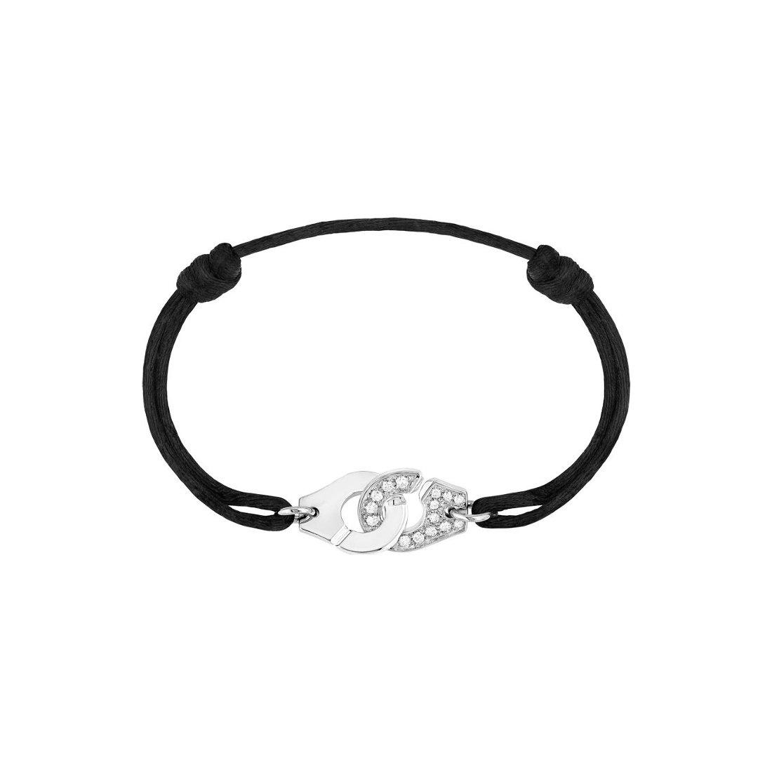 Bracelet dinh van Menottes dinh van en or blanc et diamants
