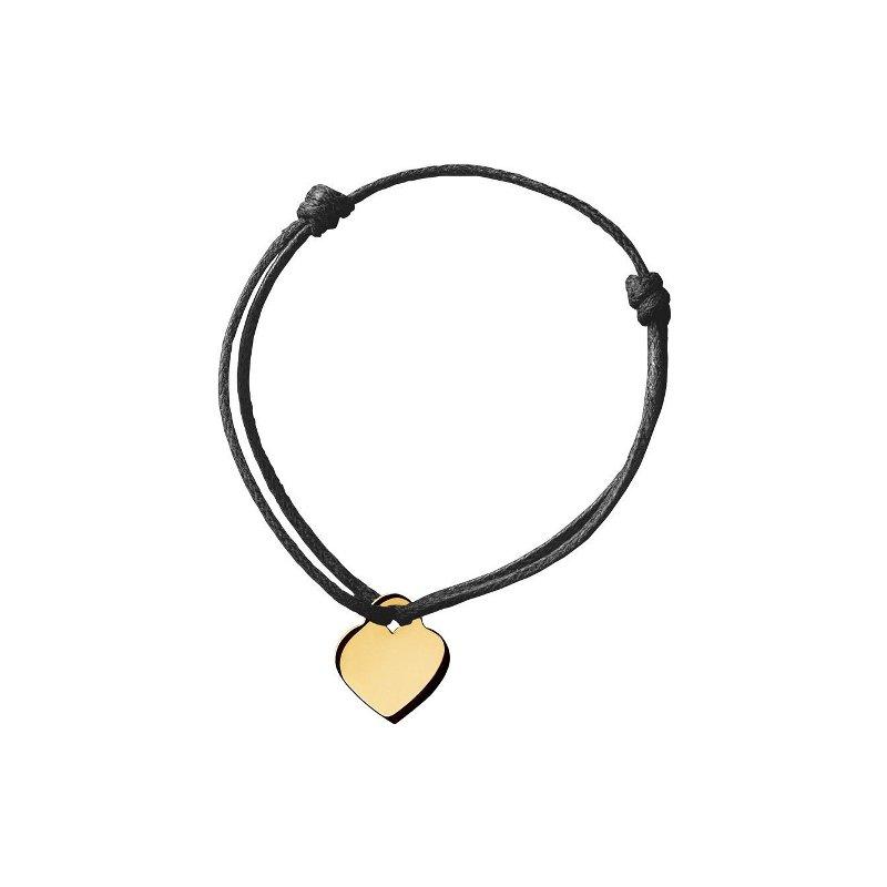 Bracelet sur cordon dinh van Cœur dinh van en Or jaune