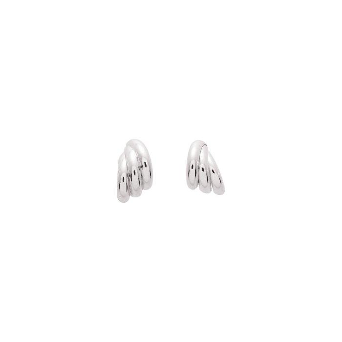 Boucles d'oreilles en or blanc