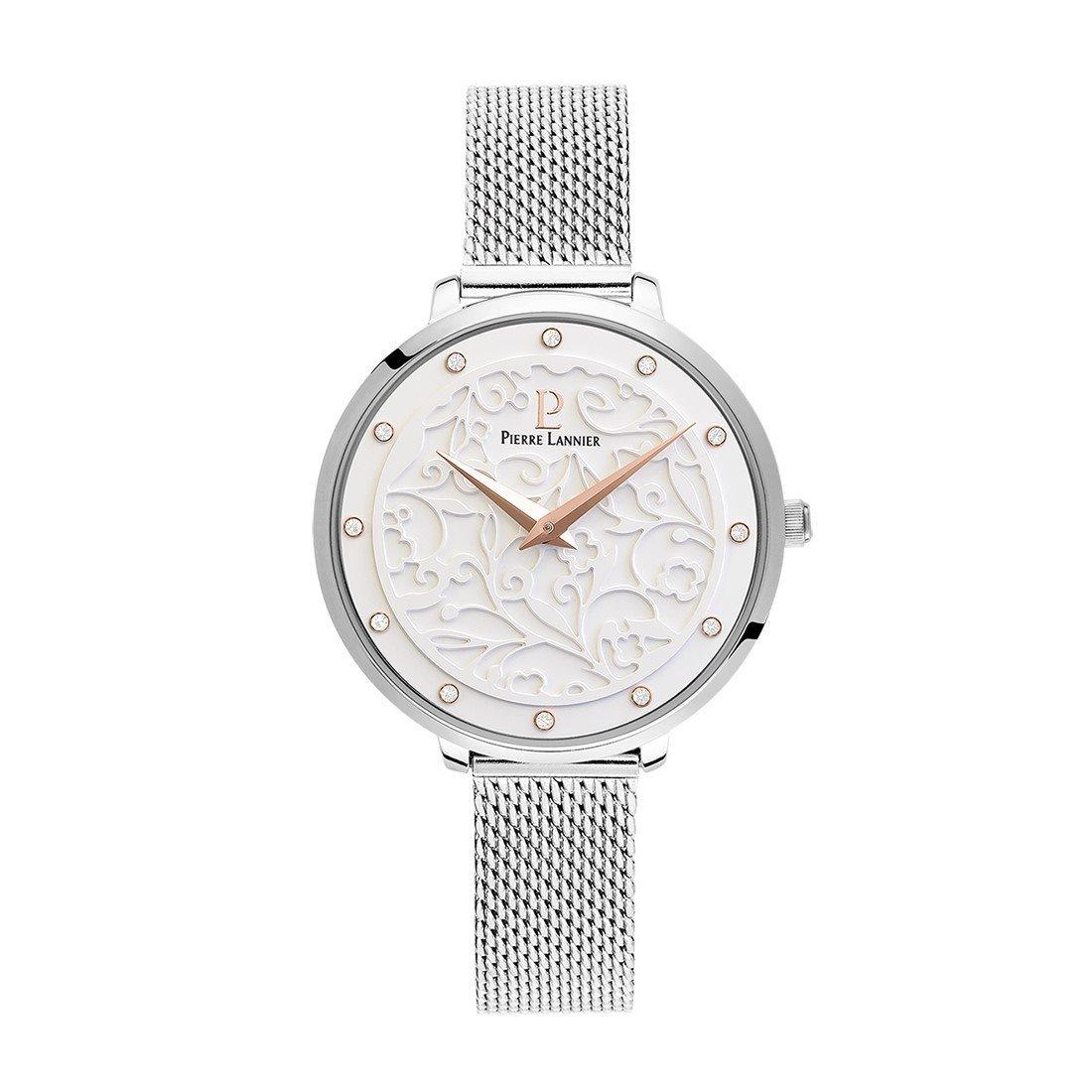 Coffret de montre Pierre Lannier Eolia 366F608 et collier vue 1