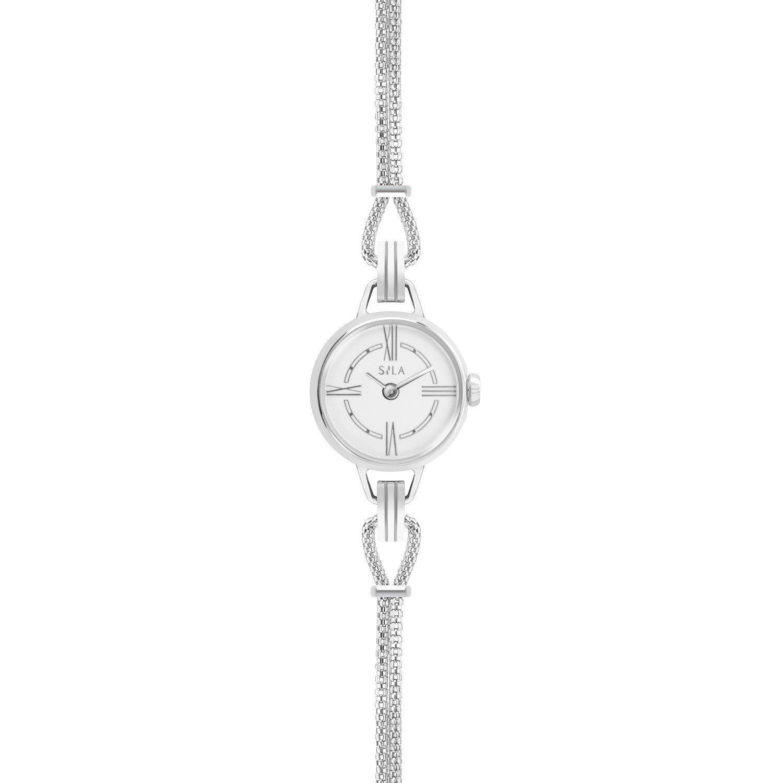 Bracelet de montre SILA en argent vue 2