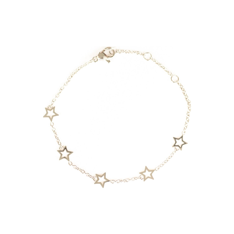 Bracelet étoiles SILA en argent vue 1
