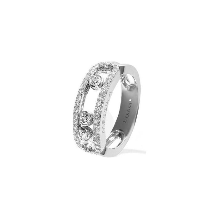 bague or blanc diamant promotion