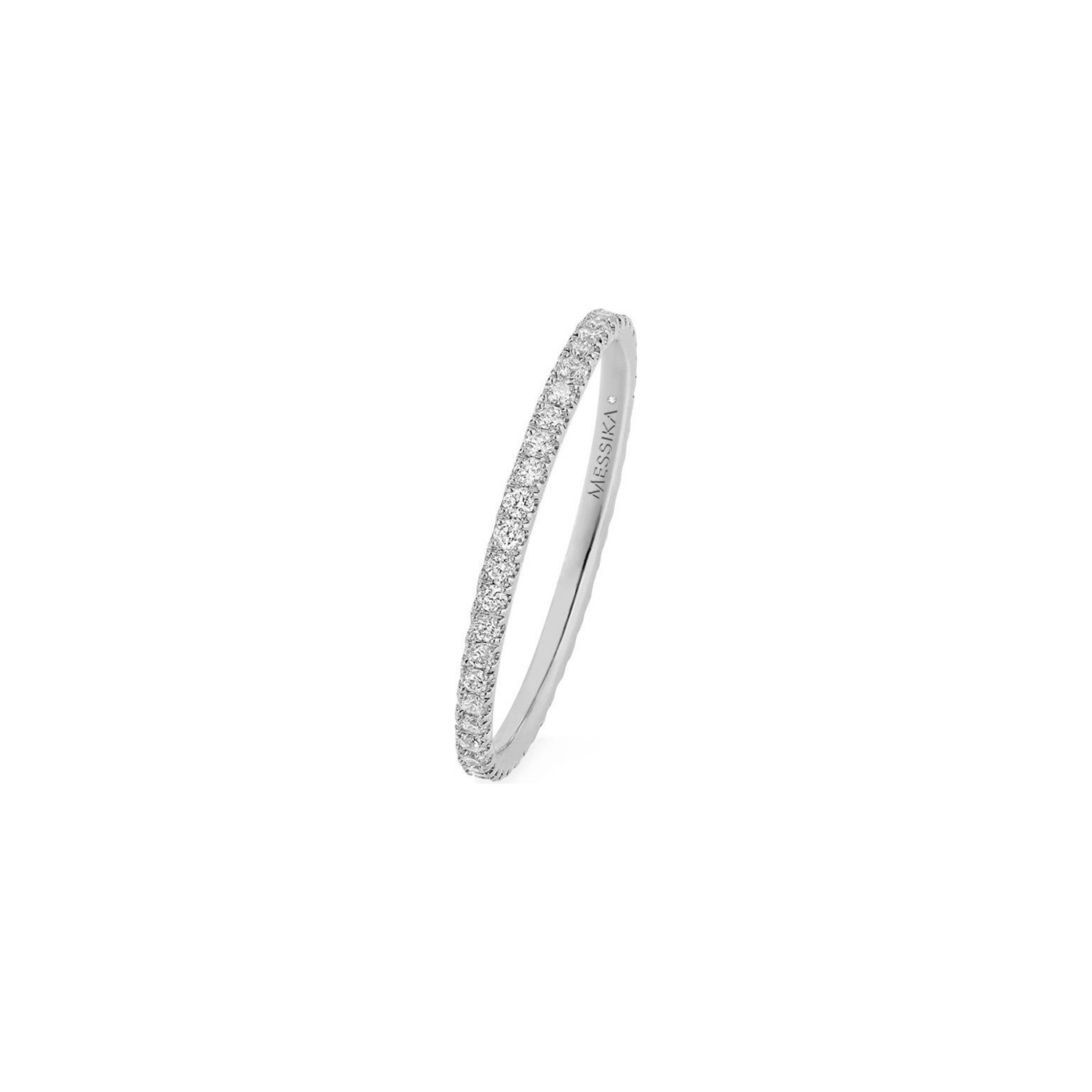 Alliance Messika Gatsby XS en Or blanc et Diamant