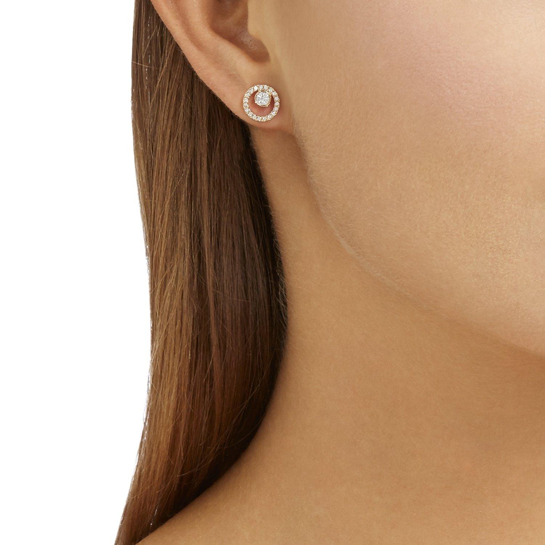 Boucles d'oreilles Swarovski en cristaux Swarovski vue 2