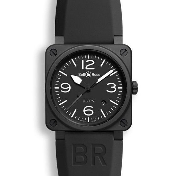 Montre Bell & ross Aviation br 03 Br 03-92 black matte