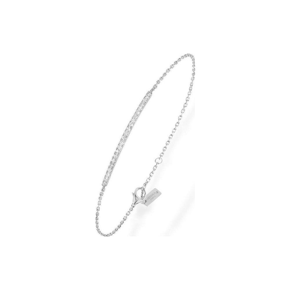 Bracelet Messika Gatsby Barrette en Or blanc et Diamant