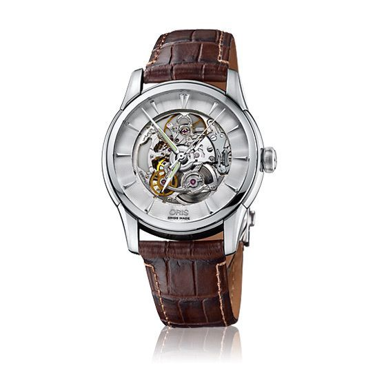 Montre Oris Culture Artelier skeleton