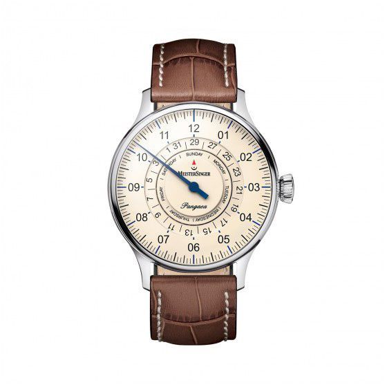 Montre Meistersinger Single-hand functions Pangaea day date vue 1