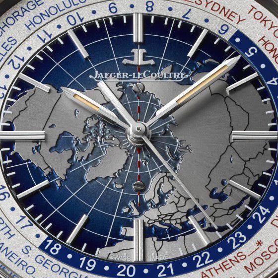 Montre Jaeger-LeCoultre Geophysic Universal Time vue 2