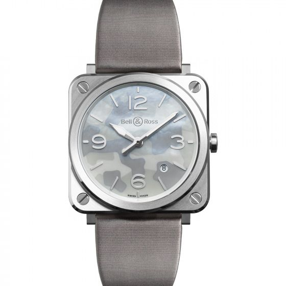 Montre Bell & ross Aviation br s Br s grey camouflage