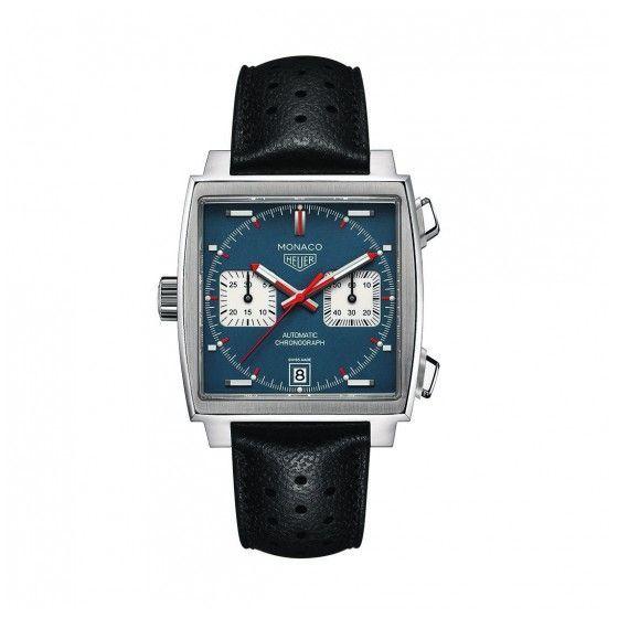 Montre Tag heuer Monaco Chronographe automatique calibre 11 vue 1