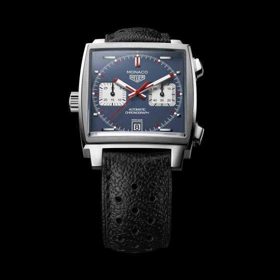 Montre Tag heuer Monaco Chronographe automatique calibre 11 vue 5
