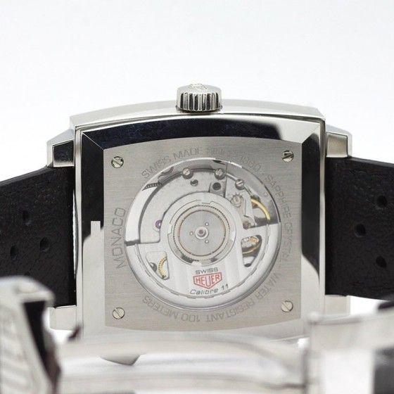 Montre Tag heuer Monaco Chronographe automatique calibre 11 vue 3