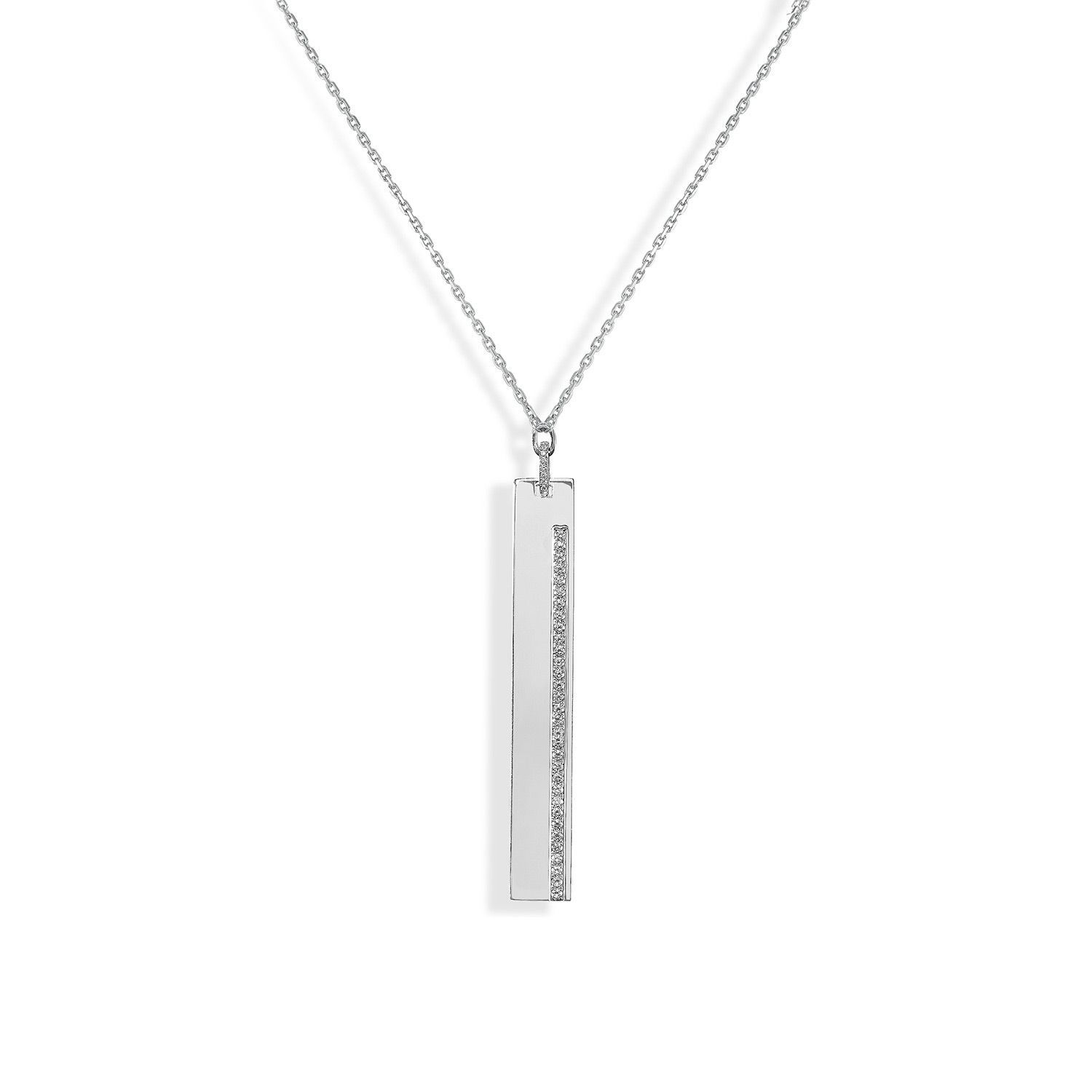 Collier Messika Sautoir Kate en Or blanc et Diamant
