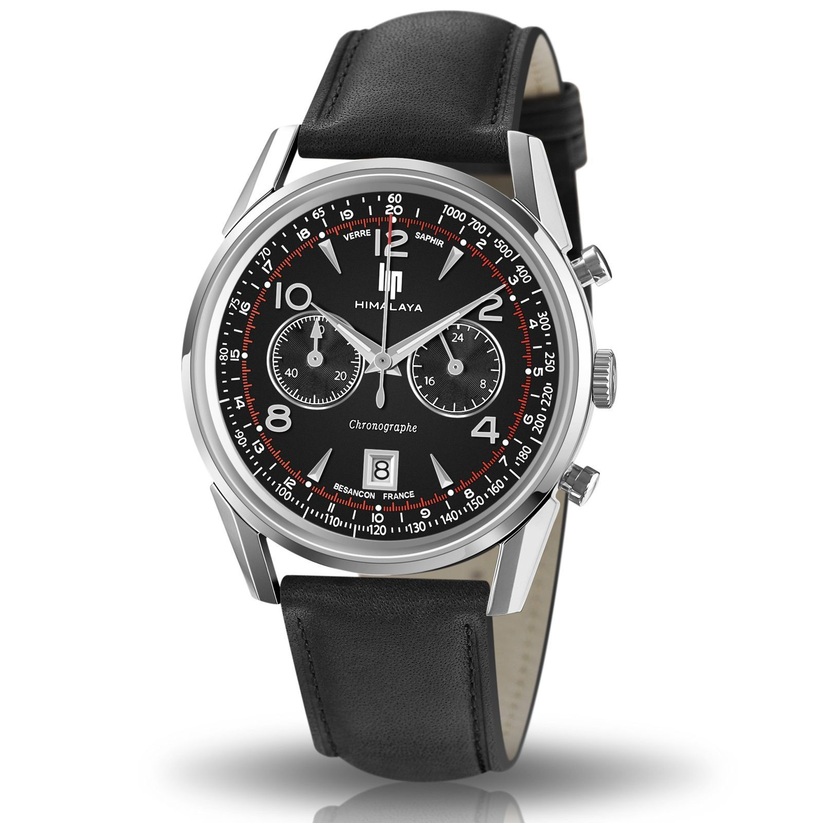 Montre Lip Himalaya 40mm Chrono 671592