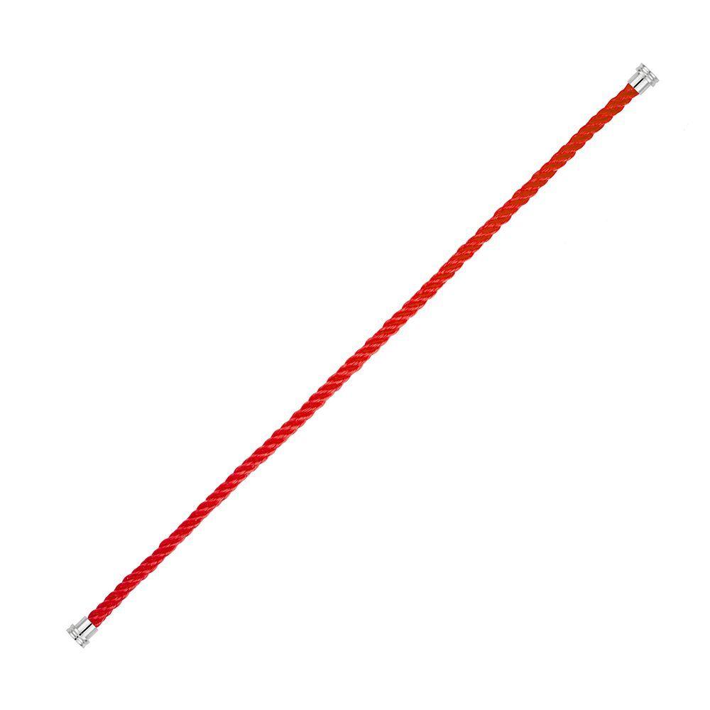 Câble moyen modèle FRED Force 10 en corderie rouge vue 1
