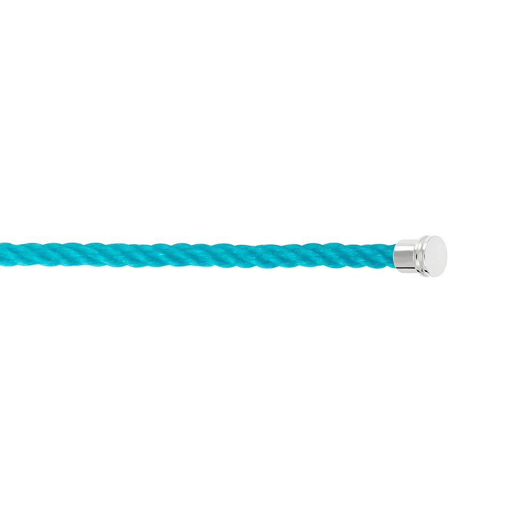 Câble moyen modèle FRED Force 10 en corderie bleu turquoise vue 2