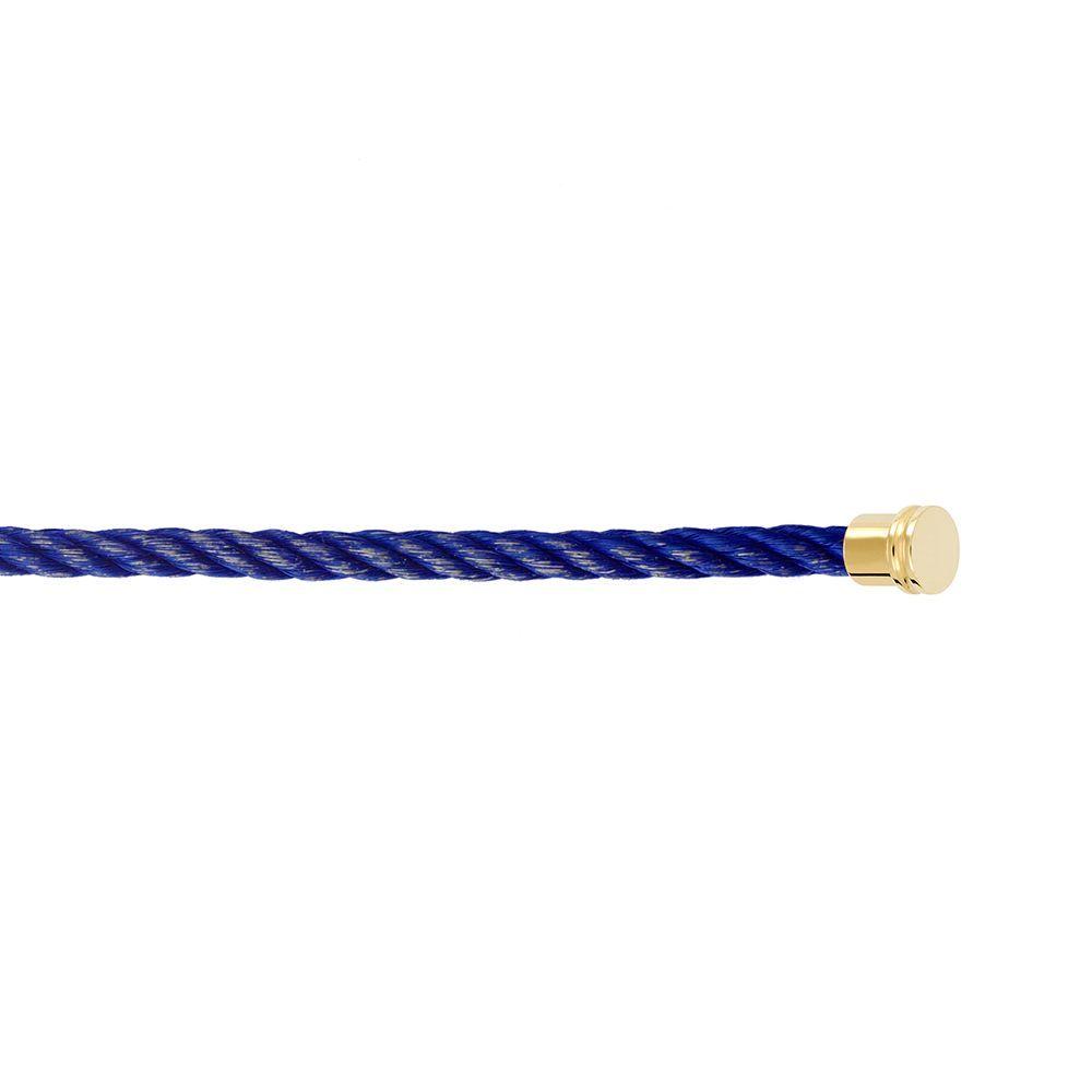 Câble moyen modèle FRED Force 10 en acier bleu jean vue 2