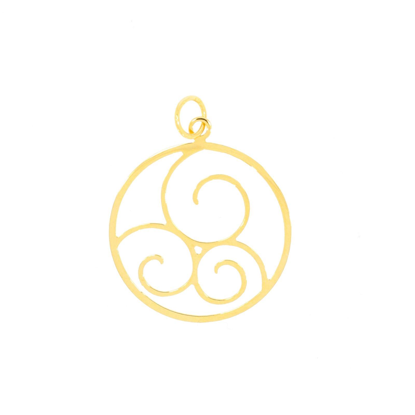Pendentif Bellon en or jaune