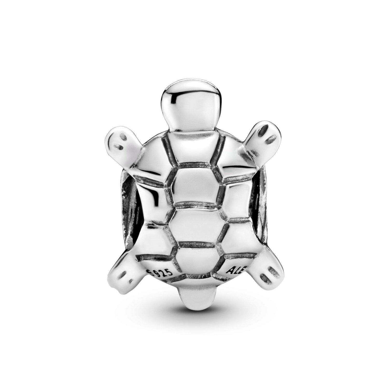 Charm Pandora Passions tortue marine pavé en argent et oxyde de zirconium