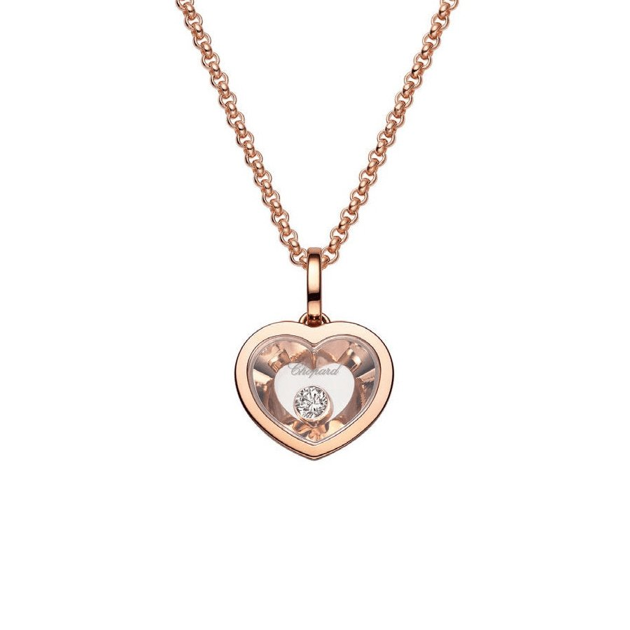 Collier Chopard Very Chopard en or rose et diamants